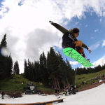 Kyler's summer at Copper open sessions