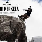 Toni Kerkelä w Pro Team Rome Snowboards