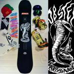 Kamil Knop x Lobster Snowboards