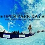 OPEN PARK DAY – PILSKO SNOWPARK