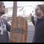 Whiskey Barrel Snowboard