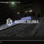 SHRED BEST TRICK RAIL x Mateusz Zielonka