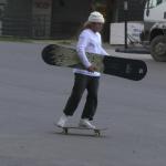 Skate Banana Snowboard x Austen Sweetin
