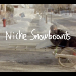 A Bicycle Tempo x Niche Snowboards